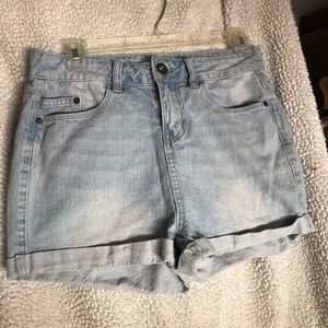 O'Neill high wasted jean short